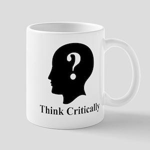 Think Critically Logo Mug Mugs