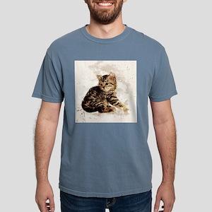 Cute little kitten, watercolor T-Shirt