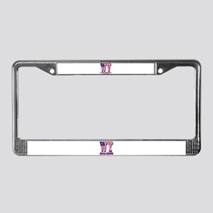 West Virginia WV Mountaineers License Plate Frame