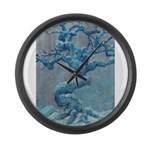 Winter Tree Large Wall Clock