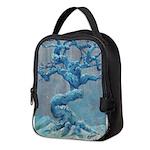 Winter Tree Neoprene Lunch Bag