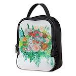 Summer Flowers Neoprene Lunch Bag