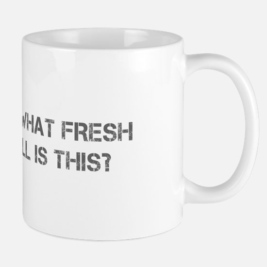 Oh what fresh hell is this-Cap gray Mugs