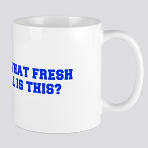 Oh what fresh hell is this-Fre blue Mugs