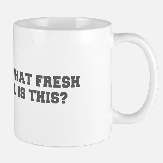 Oh what fresh hell is this-Fre gray Mugs