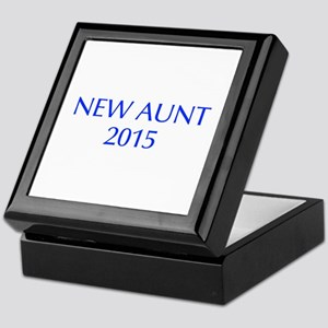 new aunt 2015-Opt blue Keepsake Box