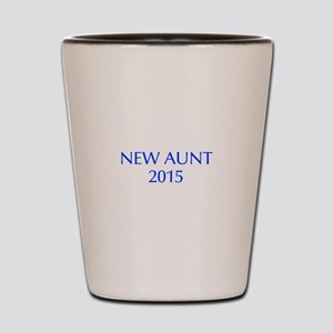 new aunt 2015-Opt blue Shot Glass
