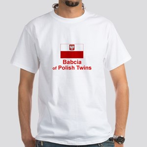 Polish Twins-Babcia White T-shirt