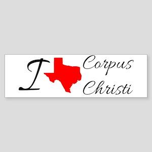 I love Corpus Christi Bumper Sticker