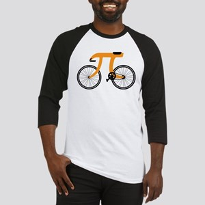witty pi day bicycle Baseball Jersey