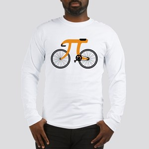witty pi day bicycle Long Sleeve T-Shirt
