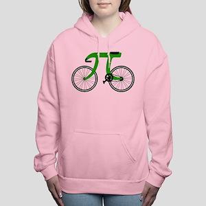 pi bicycle Women's Hooded Sweatshirt