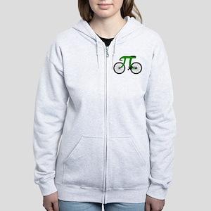 pi bicycle Zip Hoodie