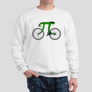 pi bicycle Sweatshirt