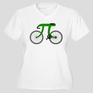 pi bicycle Plus Size T-Shirt