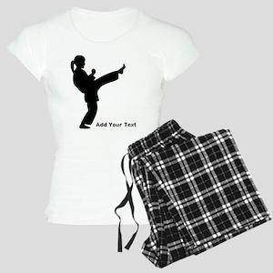 Martial Artist Women's Light Pajamas