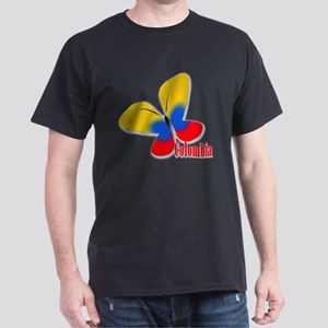Cute Colombian Butterfly Dark T-Shirt
