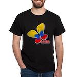 Cute Colombian Butterfly Dark T-Shirt