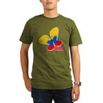 Cute Colombian Butter Organic Men's T-Shirt (dark)