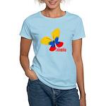 Cute Colombian Butterfly Women's Light T-Shirt