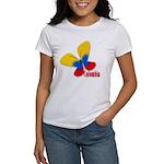 Cute Colombian Butterfly Women's T-Shirt