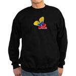 Cute Colombian Butterfly Sweatshirt (dark)