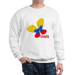 Cute Colombian Butterfly Sweatshirt