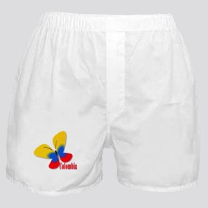 Cute Colombian Butterfly Boxer Shorts