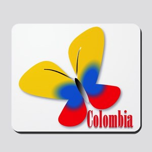 Cute Colombian Butterfly Mousepad