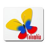 Cute Colombian Butterfly Mousepad