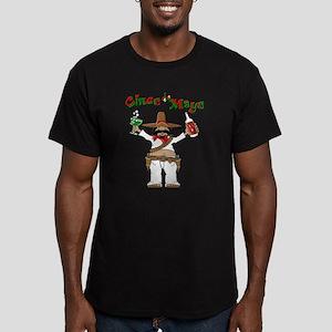 Cinco de Mayo Men's Fitted T-Shirt (dark)