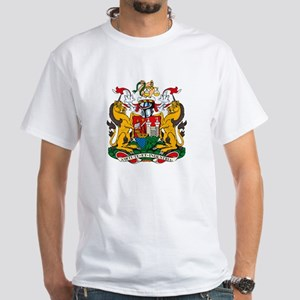 Bristol City Coat of Arms White T-Shirt