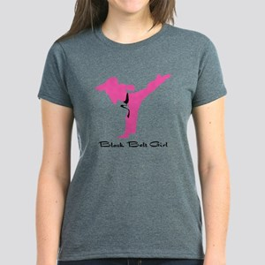 Karate Martial Arts Women's Dark T-Shirt