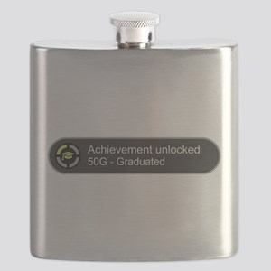 Graduated - Achievement unlocked Flask