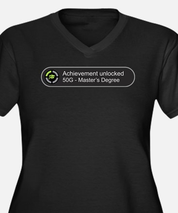 Master's Degree - Achievement un Plus Size T-Shirt