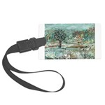 Winter in England Luggage Tag