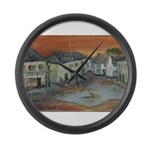 Winkleigh Sunset Large Wall Clock
