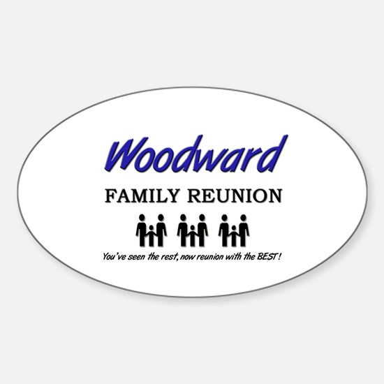 Woodward Family Reunion Oval Decal