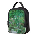 Waterfall and Trees Neoprene Lunch Bag