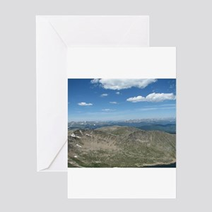 Mt. Evans View Greeting Cards