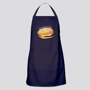Taylor Ham, Egg, And Cheese Apron (dark)