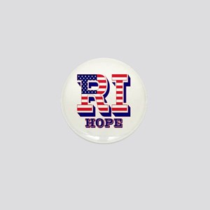 Rhode Island RI Hope Mini Button