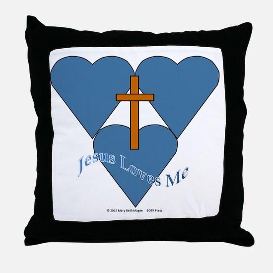 Funny Christian living Throw Pillow