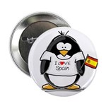 Spain Penguin Button