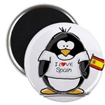 Spain Penguin Magnet