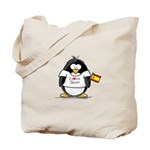 Spain Penguin Tote Bag