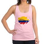 Colombiano orgulloso Racerback Tank Top
