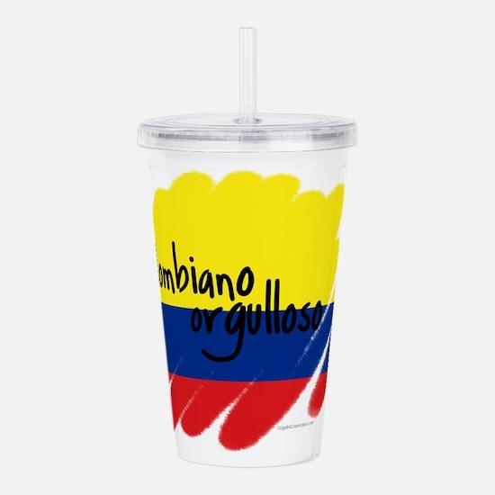 Colombiano orgulloso Acrylic Double-wall Tumbler