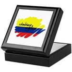 Colombiano orgulloso Keepsake Box