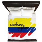 Colombiano orgulloso King Duvet
